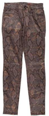 Level 99 Printed Low-Rise Jeans w/ Tags