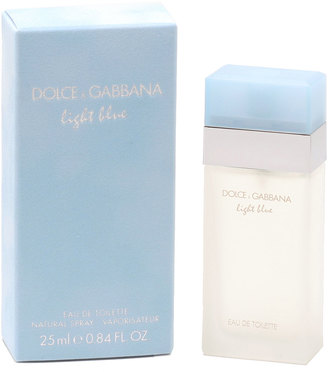 Dolce & Gabbana Light Blue Eau de Toilette, .84 oz. $42 thestylecure.com