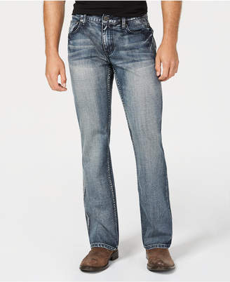 INC International Concepts I.N.C. Men's Wesley Boot-Cut Jeans, Created for Macy's