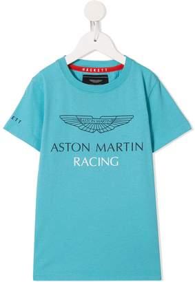 Hackett Kids Aston Martin Racing print T-shirt