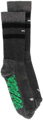Off-White striped socks