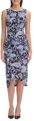 Tommy Hilfiger Paisley Bodycon Dress