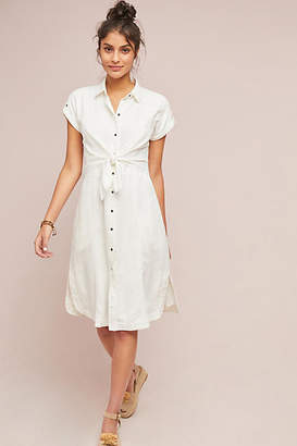 Maeve Elspeth Linen Shirtdress