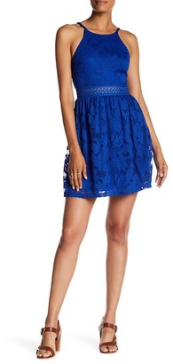 A. Byer Sleeveless Lace Skater Dress (Junior) $69 thestylecure.com