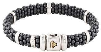 Lagos Five Bar Caviar Bracelet