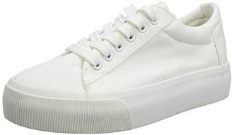 New Look 915 Girls Memphis Trainers White, (37 EU)