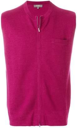 N.Peal fine zipped waistcoat