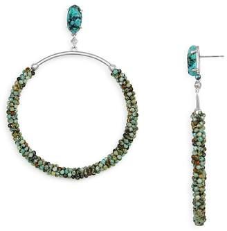 Kendra Scott Russel Beaded Loop Drop Earrings