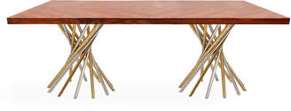 Jonathan Adler Electrum Rectangular Dining Table
