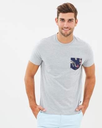 Floral Pocket Print T-Shirt