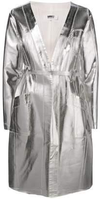 MM6 MAISON MARGIELA belted raincoat