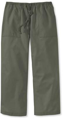 L.L. Bean L.L.Bean Original Sunwashed Canvas Pants, Cropped