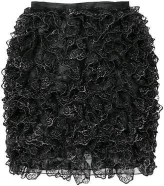 Christopher Kane mini ruffle skirt