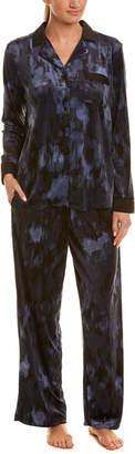Donna Karan 2Pc Caspian Pajama Set