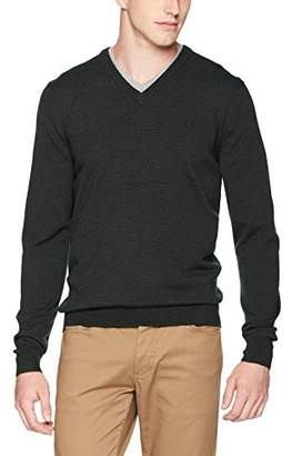 Fred Perry Men's Classic V Neck Sweater