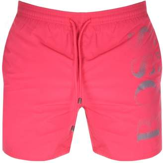 fb84ed2218 HUGO BOSS Boss Business Octopus Swim Shorts Pink