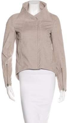 Helmut Lang Corduroy Zip-Up Jacket