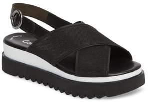 Gabor Crossover Strap Platform Sandal