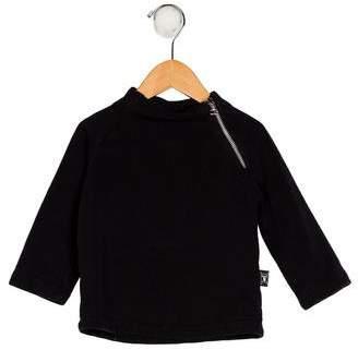 Nununu Boys' Knit Crew Neck Sweater