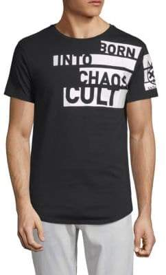 Cult of Individuality Graphic Tees Embossed Logo Cotton Tee
