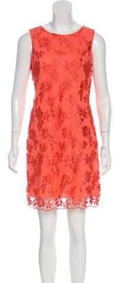 Alice + Olivia Sleeveless Lace Mini Dress