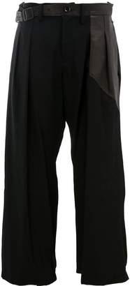 Yohji Yamamoto cropped trousers