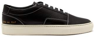 Common Projects Skate Leather Trainers - Mens - Black