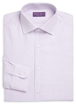 Ralph Lauren Purple Label Aston Ruby Stripe Button-Down