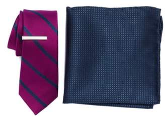The Tie Bar Wheelhouse Stripe 3-Piece Skinny Tie Style Box