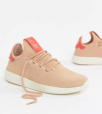 adidas Pharrell Williams Tennis Hu Trainers In Pink