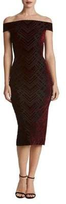 Dress the Population Off-The-Shoulder Bodycon Dress