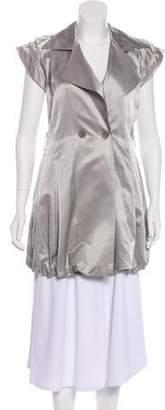 Alice + Olivia Metallic Notch-Lapel Jacket