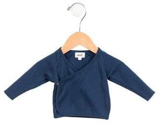 Oeuf Boys' Polka Dot Long Sleeve Shirt