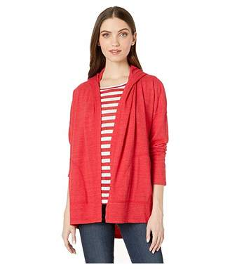 Michael Stars Rochel Lounge Jersey Long Sleeve Shawl Neck Cardi