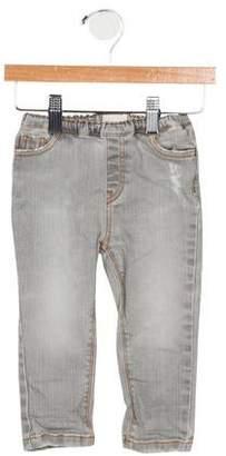 Arsène et les Pipelettes Boys' Woven Straight-Leg Jeans