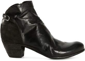 Officine Creative side zip ankle boots
