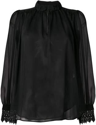 Steffen Schraut high neck blouse