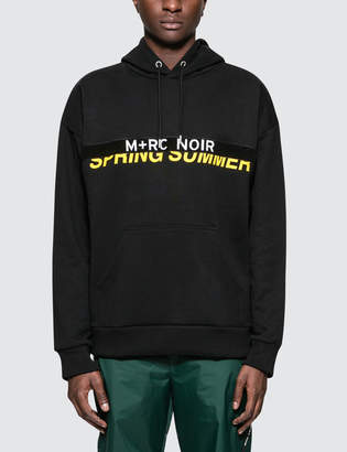 M+Rc Noir Velcro Hoodie