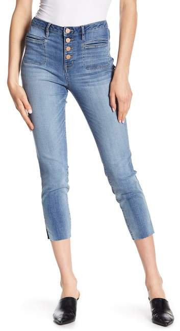 William Rast High Rise Cropped Jeans