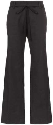 Ann Demeulemeester tie-waist wide-leg trousers