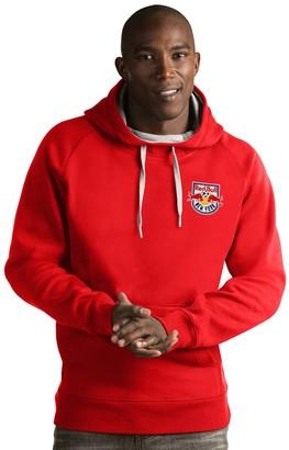 Antigua Men's New York Red Bulls Victory Pullover Hoodie