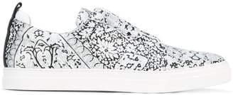 Pierre Hardy printed sneakers