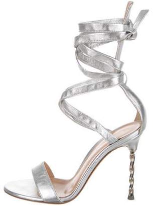 578369fca0b498 Silver Wrap Around Sandals For Women - ShopStyle Canada
