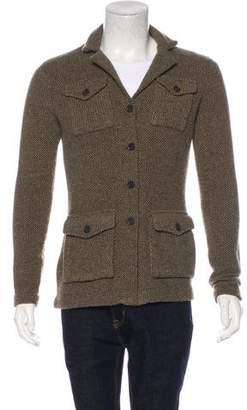 Ralph Lauren Black Label Wool & Cashmere Cardigan