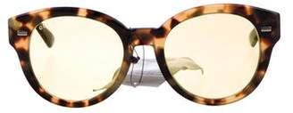 Gucci Tortoiseshell Round Sunglasses w/ Tags
