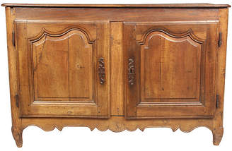 One Kings Lane Vintage 19th-C. Louis XV-Style Walnut Cabinet