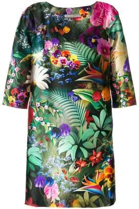 Mary Katrantzou floral v-neck dress