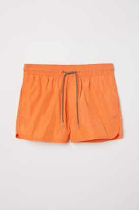 H&M Short Swim Shorts - Orange