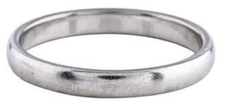 Tiffany & Co. Platinum Plain Wedding Band