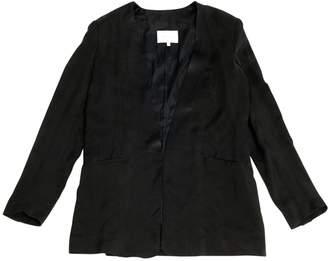 Pierre Balmain Black Silk Jackets